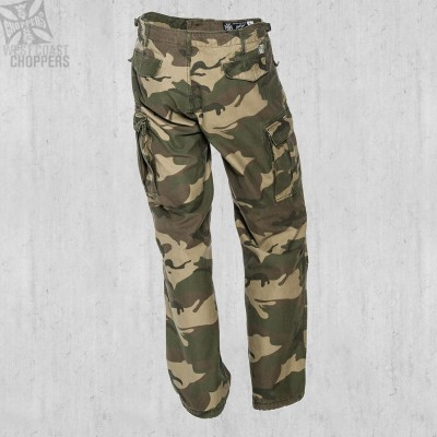 "WEST COAST CHOPPERS - ""M-65 CARGO PANTS CAMOUFLAGE"""