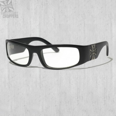 Brýle WEST COAST CHOPPERS- ORIGINAL CROSS, CLEAR LENSES