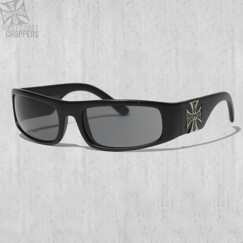 Brýle WEST COAST CHOPPERS- ORIGINAL CROSS, SMOKED LENSES
