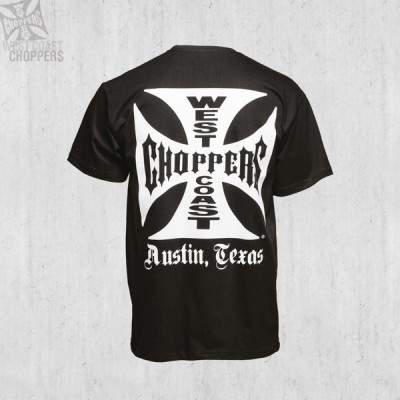 "WEST COAST CHOPPERS TRIKO - ""Iron Cross ATX - BLACK"""