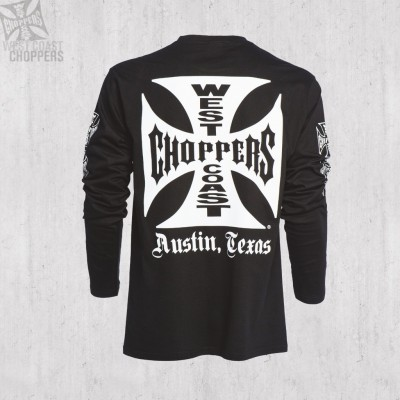 "WEST COAST CHOPPERS TRIKO S DLOUHÝM RUKÁVEM-""OG Cross ATX Long Sleeve"""