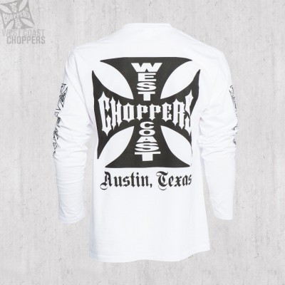 "WEST COAST CHOPPERS TRIKO S DLOUHÝM RUKÁVEM- ""OG Cross Long Sleeve"""