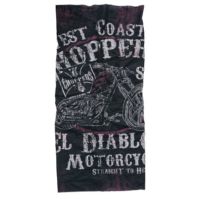 WEST COAST CHOPPERS - NÁKRČNÍK EL DIABLO TUBE BLACK