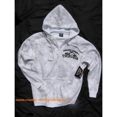 MIKINA NA ZIP-Orange County Choppers