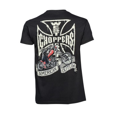 "WEST COAST CHOPPERS TRIKO - "" CHOPPER DOG """