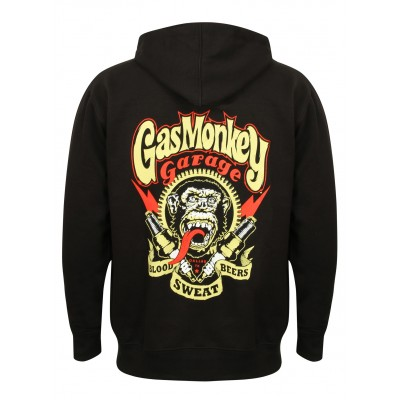 "GAS MONKEY GARAGE- MIKINA NA ZIP ""SPARKPLUGS"""
