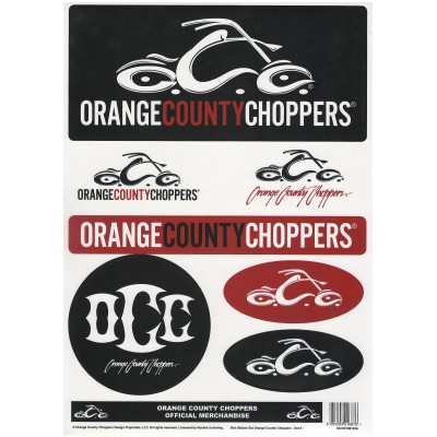 ORANGE COUNTY CHOPPERS-SET SAMOLEPEK OCC
