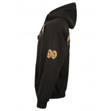 MIKINA BEZ ZIPU- kangaroo hoodie OCC 99 Pinstripe