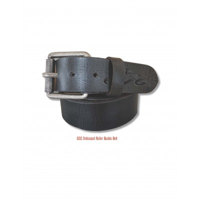 KOŽENÝ PÁSEK- Orange County Choppers (OCC) Roller Leather Belt, Black,