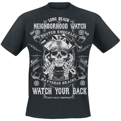 """WEST COAST CHOPPERS - TRIKO """"Busted Knuckles Solid Nero"""""""