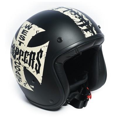 OTEVŘENÁ HELMA WCC- Gangscript Helmet - Matte Black