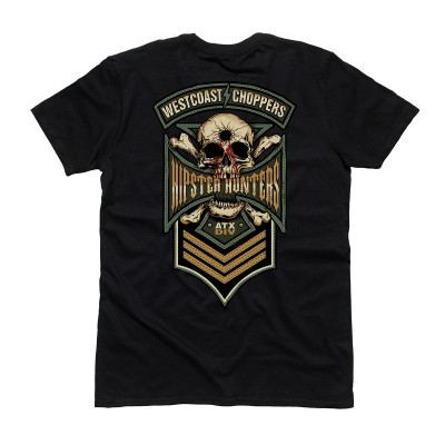 "WEST COAST CHOPPERS TRIKO - ""WCC-HIPSTER HUNTERS BLACK"""