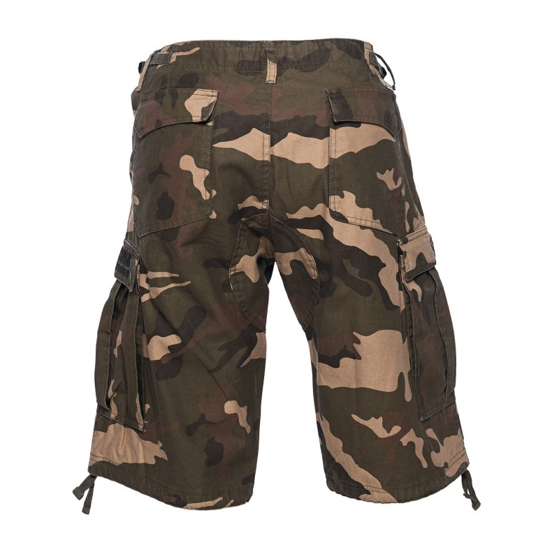 WEST COAST CHOPPERS - KRAŤASY CARGO SHORT CAMO WCC