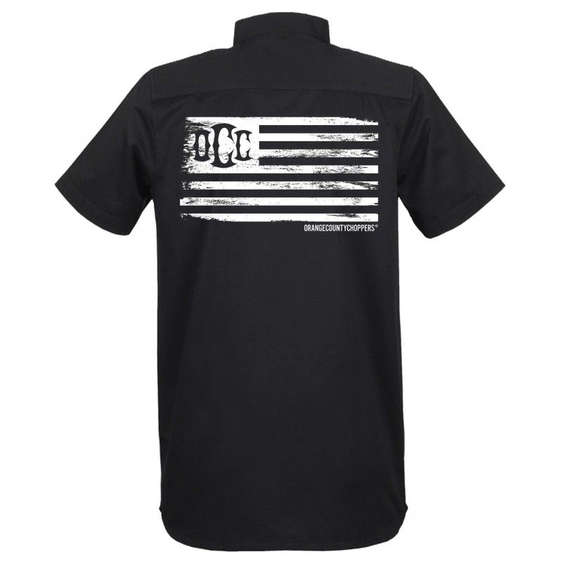"Orange County Choppers- KOŠILE-WORK SHIRTS ""OCC USA GLORY"""
