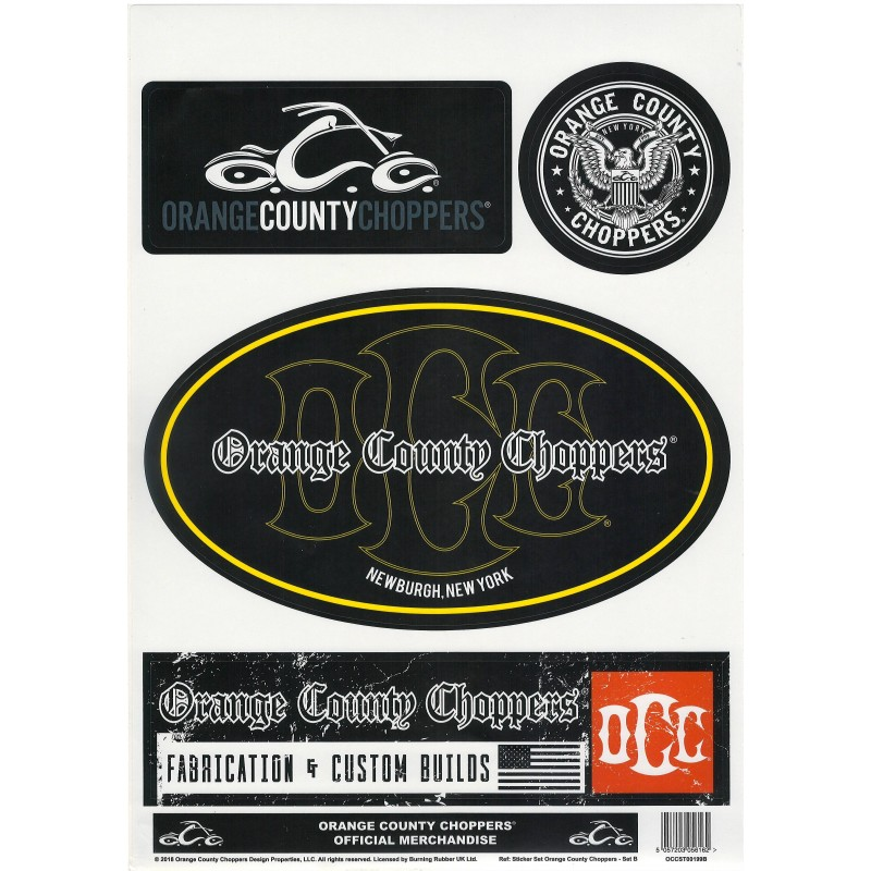 ORANGE COUNTY CHOPPERS-SET SAMOLEPEK OCC