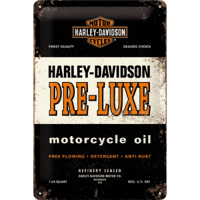 Plechová cedule – Harley...
