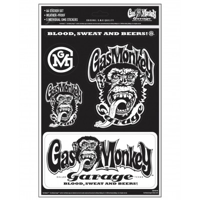GAS MONKEY GARAGE- SET...