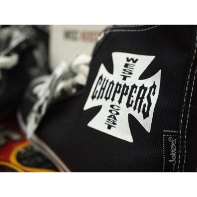 "Boty West Coast Choppers - ""Converse"" WCC černé"