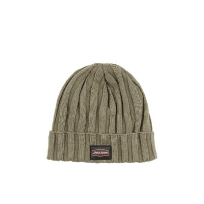 JESSE JAMES WORKWEAR- ZIMNÍ ČEPICE JESSE JAMES WORKWEAR RIB BEANIE FORREST GREEN